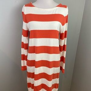 J.Crew Striped Boat Dress